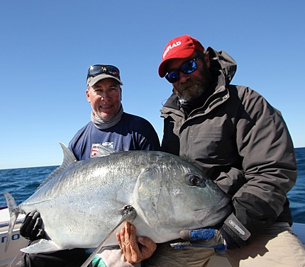 Big GTs one of our Specialities at Coral Sea Sportfishing Safaris.