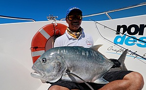rewards from our guided fishing charters