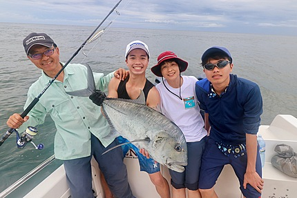 guided fishing GT Charters