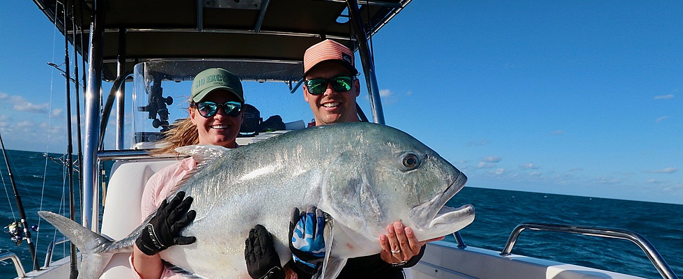 Our popping charters produce big GT's
