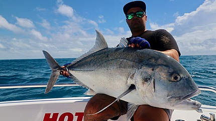 A typical GT from our full day charters